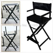 aluminum director chair foldable aluminum makeup chair 2 colours