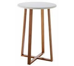 Argos Bar Table Buy Habitat Drew Tall Side Table Bamboo At Argos Co Uk Your
