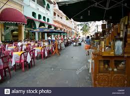 mexico veracruz city street scene from the zocalo stock photo