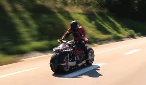 maserati motorcycle lazareth lm 847 maserati powered motorcycle actually filmed in action