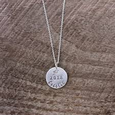 sterling silver personalized necklace images Graduation necklace sterling silver personalized graduation jpg