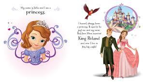 disney sofia princess book disney sofia