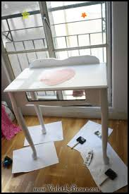 Diy Vanity Table My New White Painted Make Up Table Home Sweet Home Violet