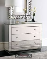 Bedroom Mirror Furniture by Adding Shine With Mirrored Furniture Dresser Mirrored Dressing