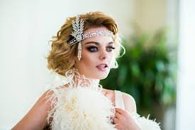 wedding headpiece great gatsby wedding headpiece headband with rhinestones and