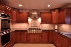 Fancy Kitchen Backsplash Cherry Cabinets - Backsplash for cherry cabinets