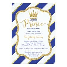 prince baby shower prince baby shower invitations announcements zazzle
