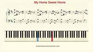the sweethome sheets how to play piano