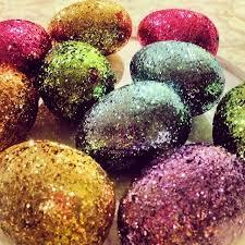 glitter easter eggs glitter sparkle blinged out easter eggs my friday crafting