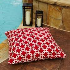 22 Inch Outdoor Chair Cushions Brooklyn Sunbrella Indoor Outdoor 22 Inch Square Ottoman Bright