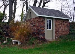 Building A Backyard Shed by Shed With Brick Five Step Guide For Building A Brick Shed