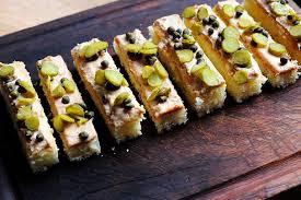 canap foie gras foie gras canapé recipe great chefs