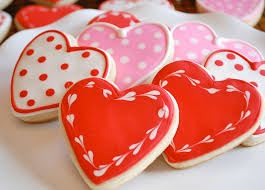 day cookies chef s day heart sugar cookies