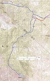 Grapevine Map Grapevine Mountains