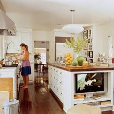 tv in kitchen ideas this kitchen the steen style
