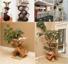 cool cat tree furniture designs your cat will
