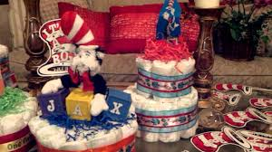 sandy magee cat in the hat baby shower diaper cak youtube