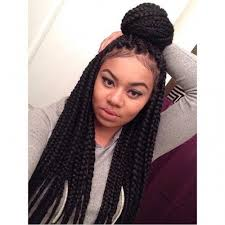 grey and purple combined together style box breads 40 big box braids styles herinterest com