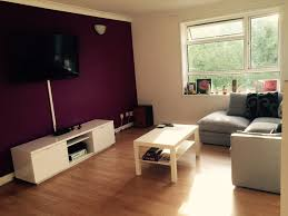 simple purple colour schemes for living rooms decorating ideas