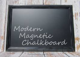 Chalkboard Home Decor by Modern Framed Chalkboard Framed 41x29 Modern