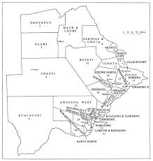 Botswana Map Botswana Election Passport