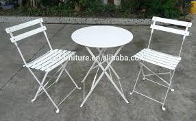 Large Bistro Table Cream Metal Garden Bistro Sets Outdoor Bistro Table Sets Uk Metal