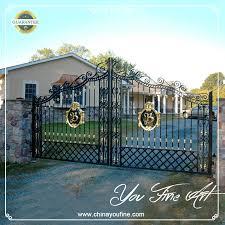 decorative wrought iron gates decorative wrought iron gates