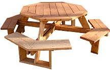 Woodworking Plans For Octagon Picnic Table by Picnic Table Woodworking Plans