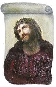 Fresco Jesus Meme - ecce homo martínez and giménez borja wikipedia