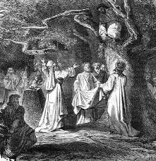 it s about time the winter solstice the druids mistletoe