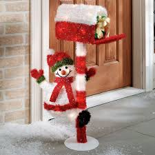 Lighted Snowman Outdoor Decoration by Christmas Best Outdoor Lighted Christmascorations Amazon On Sale