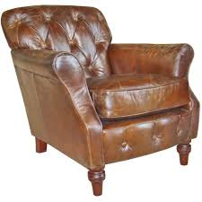 Button Back Armchair Vintage Leather Button Back Armchair U2013 Next Day Delivery Vintage