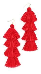misa solid tassel earrings shopbop