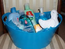 baby shower gift basket boy baby shower diy