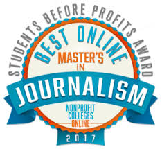 online journalism master s degree best online master s in journalism students before profits award