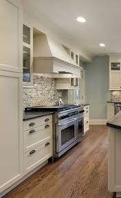 kitchen luxury white kitchen cabinets with black granite