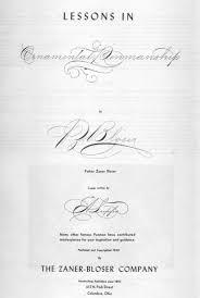 lessons in ornamental penmanship bloser iampeth site