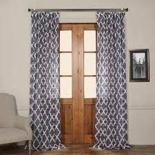 Sheer Blue Curtains Zara White Designer Sheer Curtain Half Price Drapes