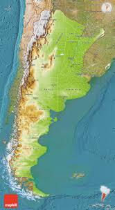 physical map of argentina physical map of argentina satellite outside