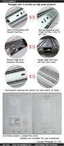 purchase full extension 3 fold keyboard drawer slide buy 3 fold