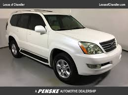 lexus gx470 gas mileage 2005 2007 used lexus gx 470 4wd 4dr at volkswagen north scottsdale