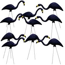 Southern Patio Southern Patio Teamingos 26 In Navy Flamingo 10 Pack Fl0110na