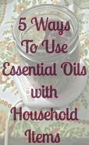 5 ways to use essential oils with household items u2013 gruada creations