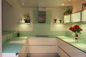 meuble de cuisine en verre bat cuisine en verre dépoli