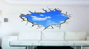 orderin wall decal 3d mural a corner of blue sky removable wall orderin wall decal 3d mural a corner of blue sky removable wall stickers fo