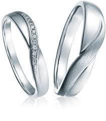 simple platinum rings images Diamond platinum promise gr4831 png