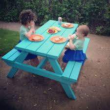 Build A Children S Picnic Table by Plans To Make A Wooden Picnic Tables Babytimeexpo Furniture
