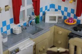 lego kitchen brickbuilt org lego moc
