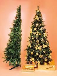 tree hire half tree style fully decorated