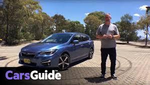 subaru hatchback subaru impreza 2017 review carsguide